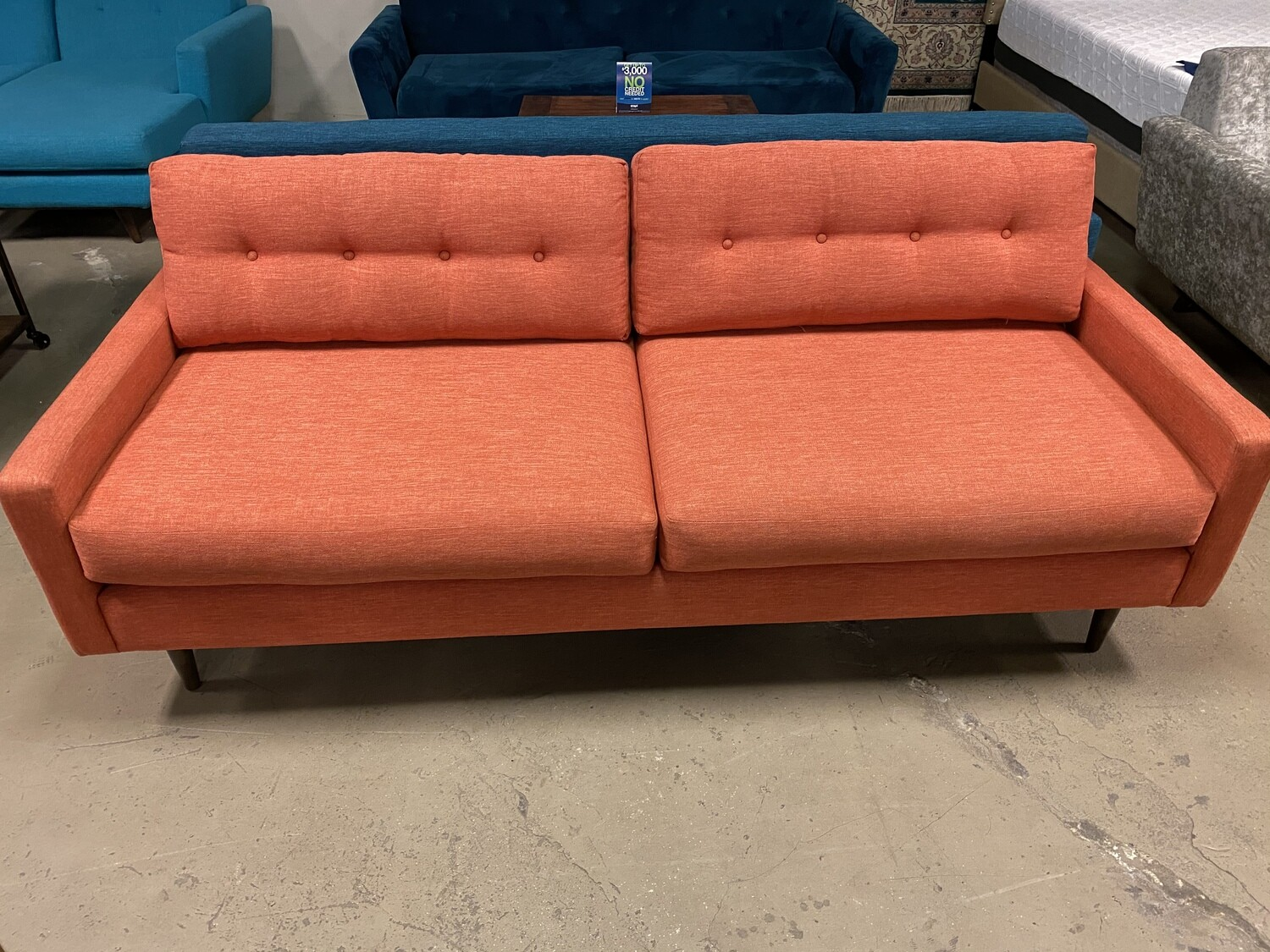 JB Hopson Sofa (Key Largo Coral) 2173
