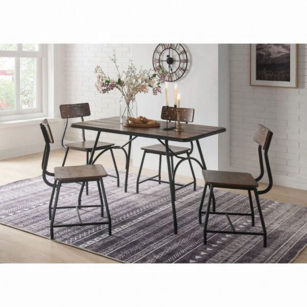 Paras Dining Set (5-pcs - Table & 4 chairs)