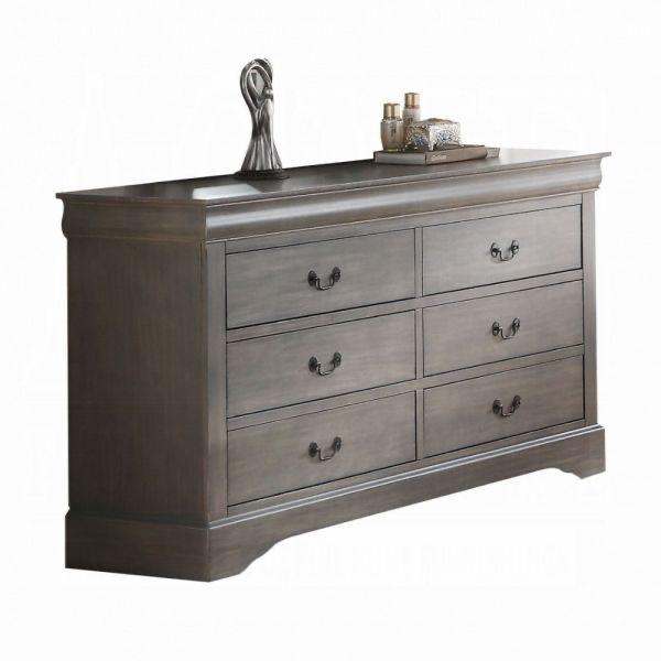 Louis Philippe III Dresser (Dark Gray)