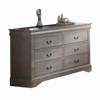 Louis Philippe III Dresser (Dark Gray)