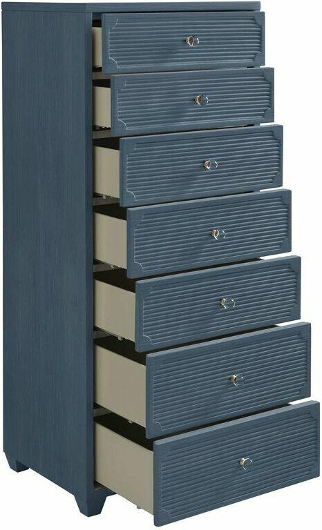 Stanley Furniture Seadrift Lingerie Chest - Blue