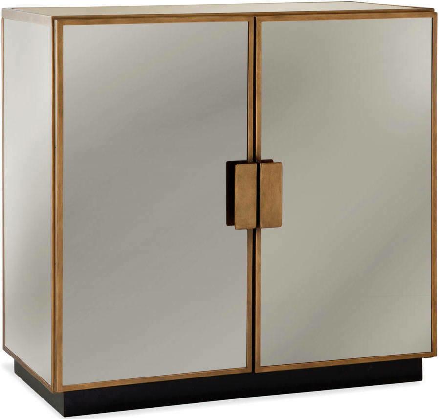 Garvey Hospitality Cabinet in Ant Brass - Bassett Mirror Company (Small Blemish)