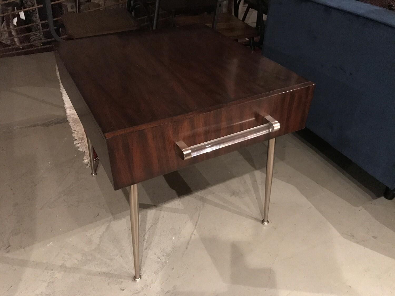 End Table - Dark Wood