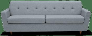 JB Hughes Sofa Sleeper - Synergy Pewter 2993