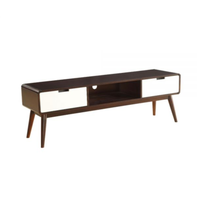 TV STAND wood/ white