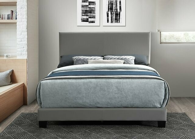 Parker Queen Bed (Gray)