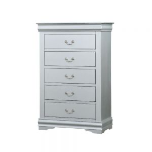 Louis Philippe III Chest - 26706 - Platinum