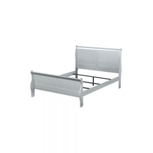 Louis Philippe Queen Bed - 26730Q - Platinum
