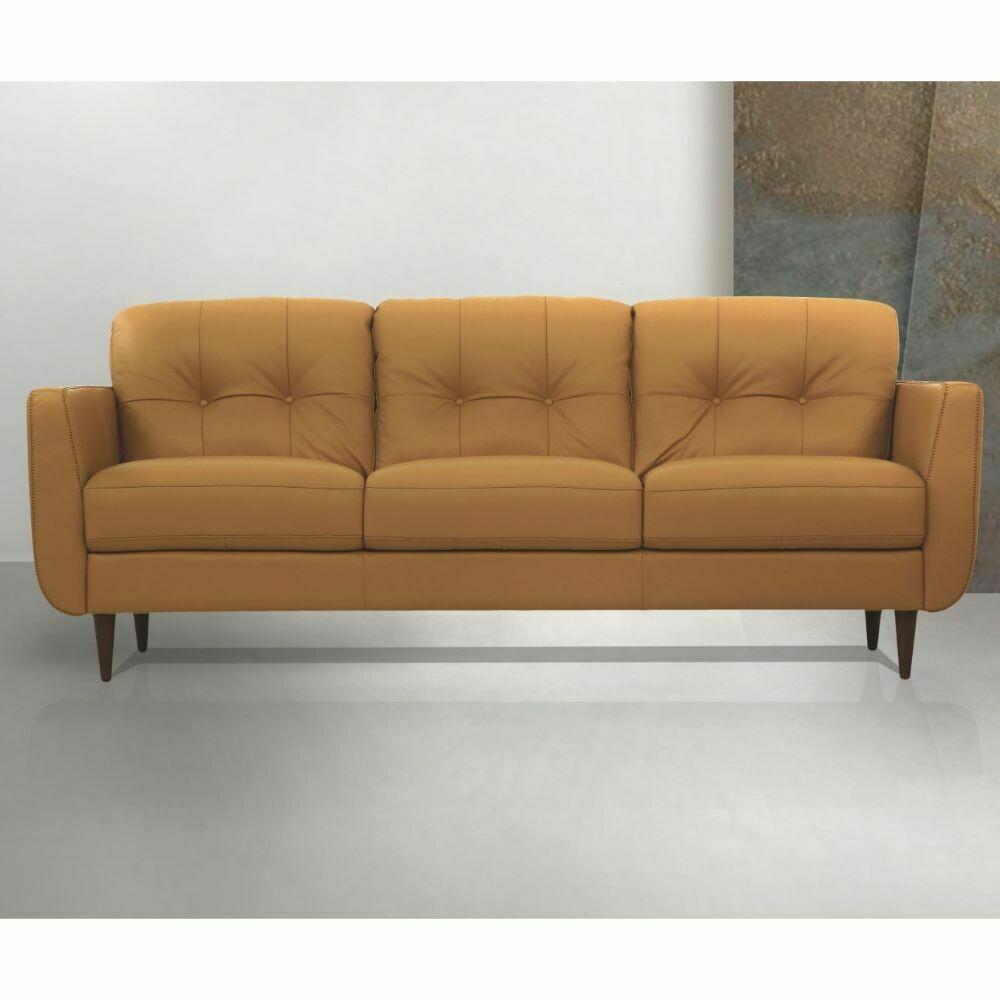 Radwan Sofa - 54955 - Camel Leather