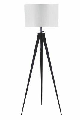 Glynn Floor Lamp - 40205 - White & Black