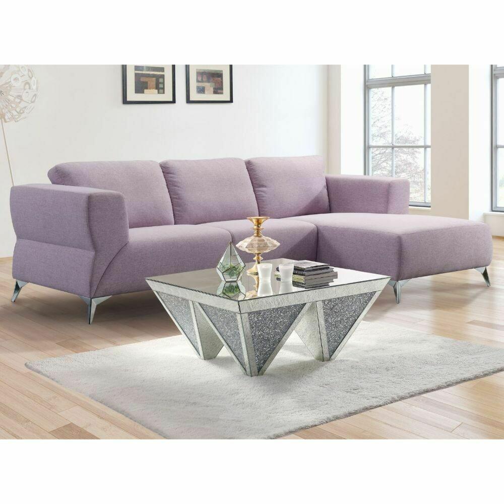 Josiah Sectional Sofa (Pale Berries Fabric)