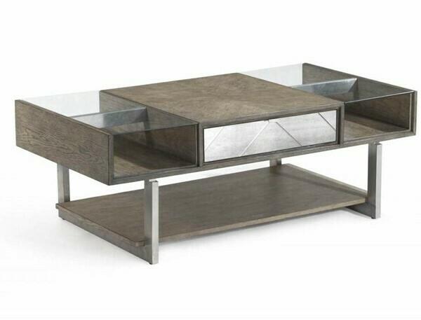 Soraya Coffee Table by Bassett Mirror Company  Capitol ID: 2273007 MFR SKU: 3233-LR-100EC - 14