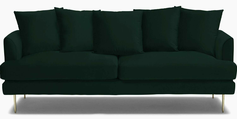 JB Aime Sofa - Royale Evergreen 2601