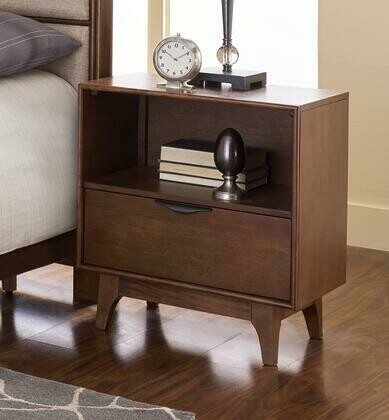 "Mid-Mod B106-43 23"" Nightstand in Cinnamon"
