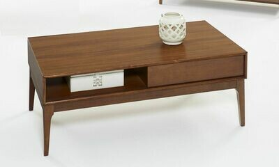 Mid-Mod Cocktail Table in Cinnamon - T106-01