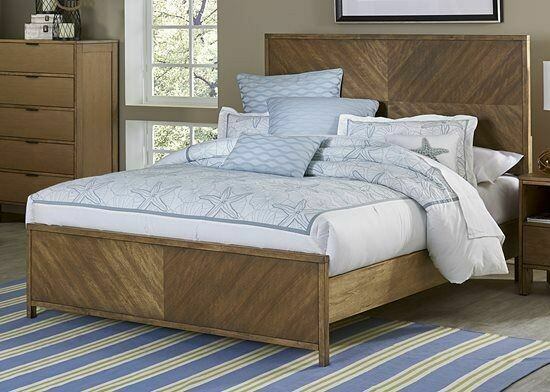 Strategy Queen Bed in Jute - B100-36-78