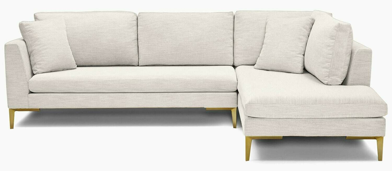 JB Ainsley Sectional with Bumper (2 piece) 3993