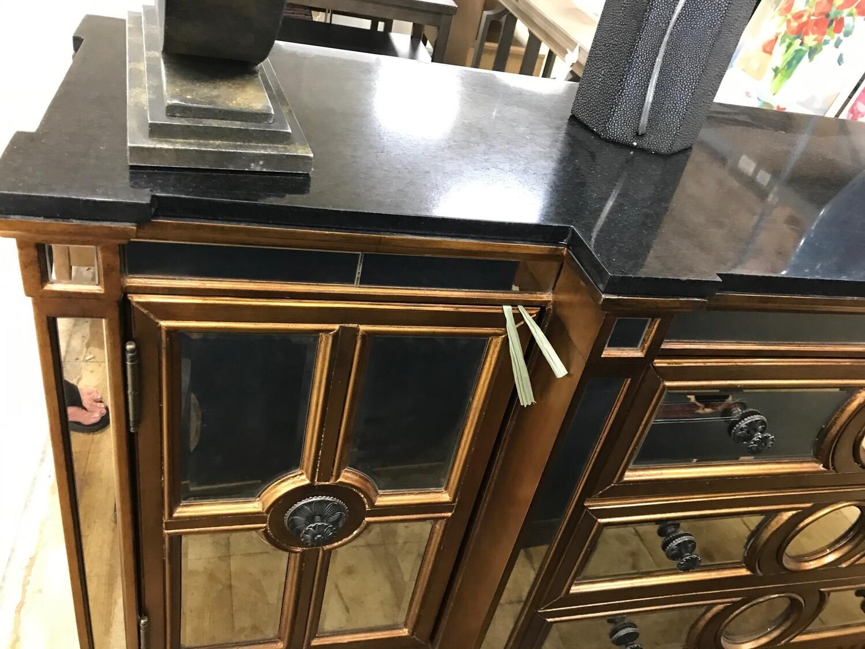BMC Bronze & Mirror Buffet Console