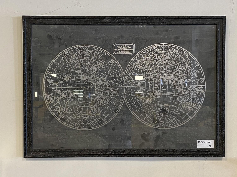 Bassett Mirror Fine Art World Picture 9901-320