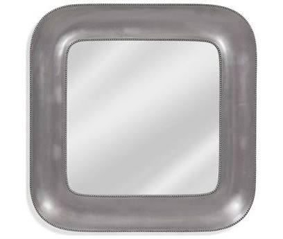 Bassett Mirror Lillian Silver Leaf Wall BAM4202