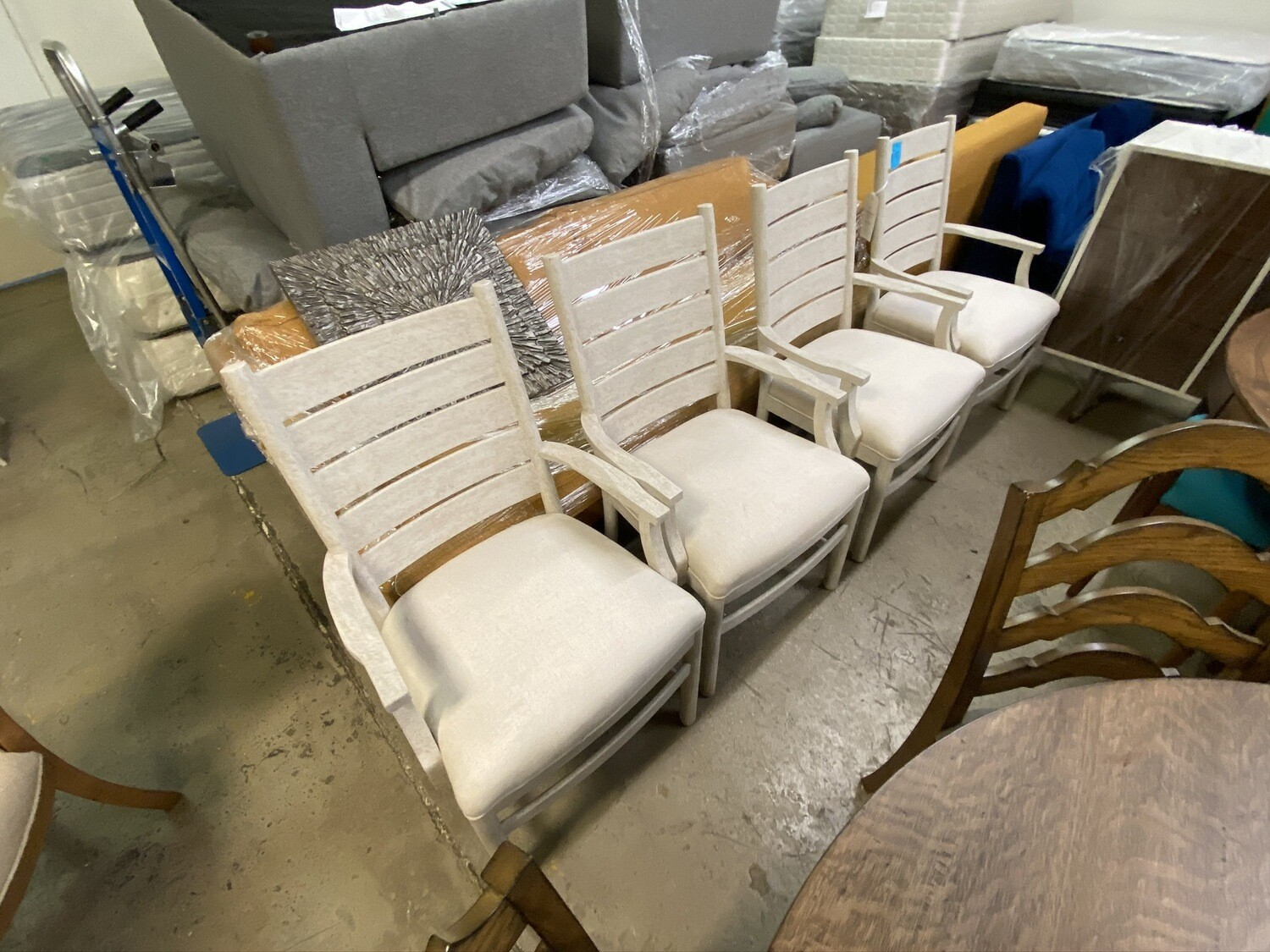 Stanley Furniture - Portico Arm Chair - 801-b1-70  (4 chairs included)