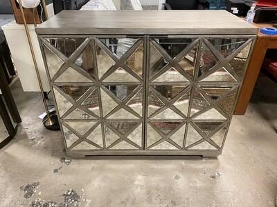 Bassett Mirror Company - Silver/ Mirror Chest