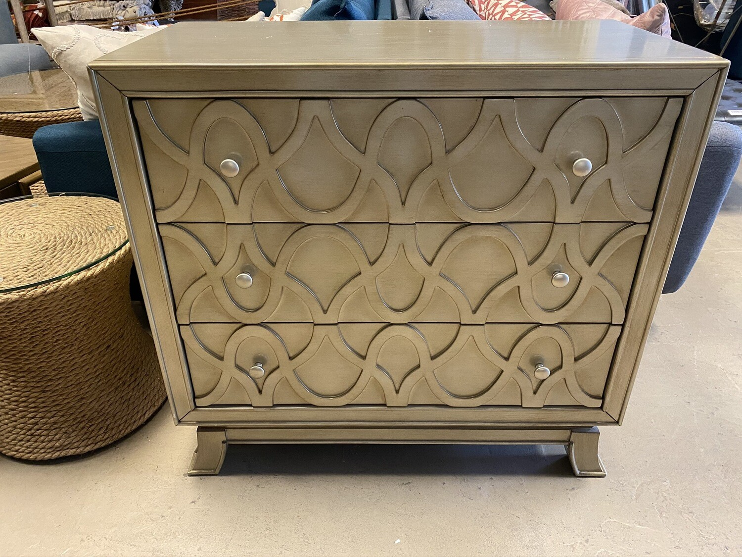 Bassett Mirror Company - Gold Chest