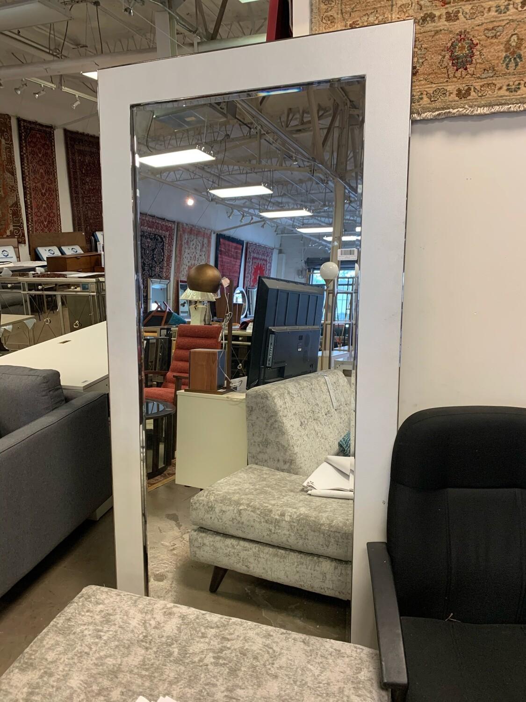Bassett Mirror - White Trim Leaner Mirror