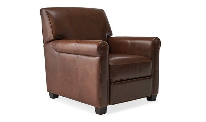 JB Durant Leather Recliner