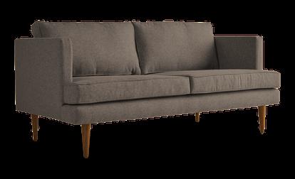 """JB Preston 68"""" Sofa - Dawson Brindle 1867"""