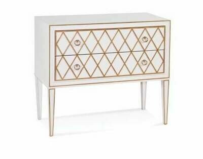 Kristie 2-Drawer Hall Chest - Bassett Mirror Company