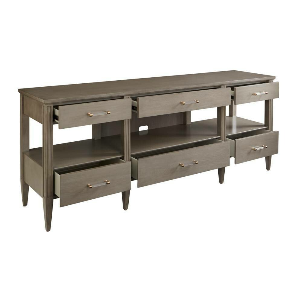Stanley Furniture - Latitude Media Console (Grey Birch) 927-65-30
