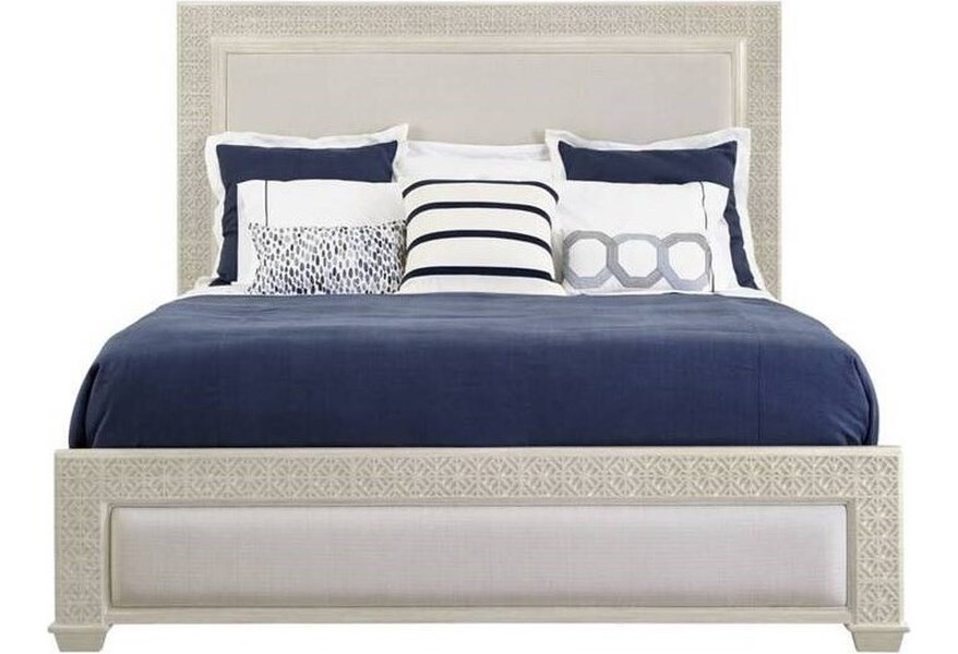 Stanley Furniture Latitude Panel Bed (King-Oyster)  927-53-45