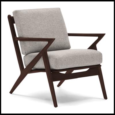 JB Soto Chair & Ottoman (Impact Flurry) 1891