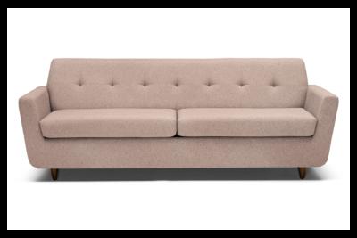 JB Hughes Sleeper Sofa (Prime Blush) 3173