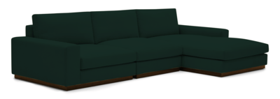 JB Holt Modular Sectional (3-Piece) (Royale Evergreen) 4233