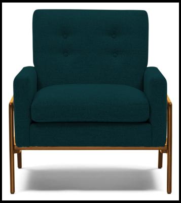 JB Clyde Chair (Royale Peacock) 1339