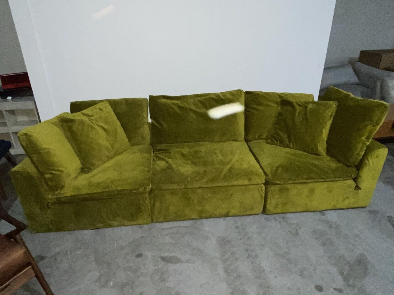 JB Bryant Modular Sofa (3 piece) (Royale Apple) 3744