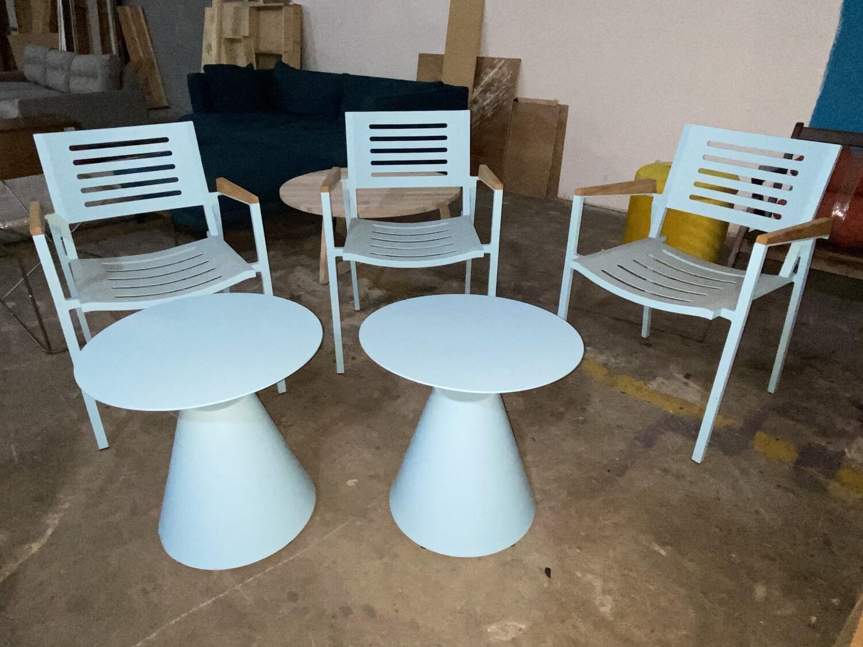 JB Vista Outdoor Side Table (Ocean Blue) 336