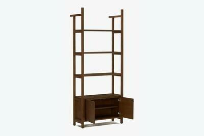 JB Bevan Bookshelf with Cabinet 1564