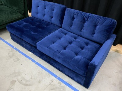 JB Eliot Sleeper Sectional (1/2 of Sectional) (Royale Cobalt)2125