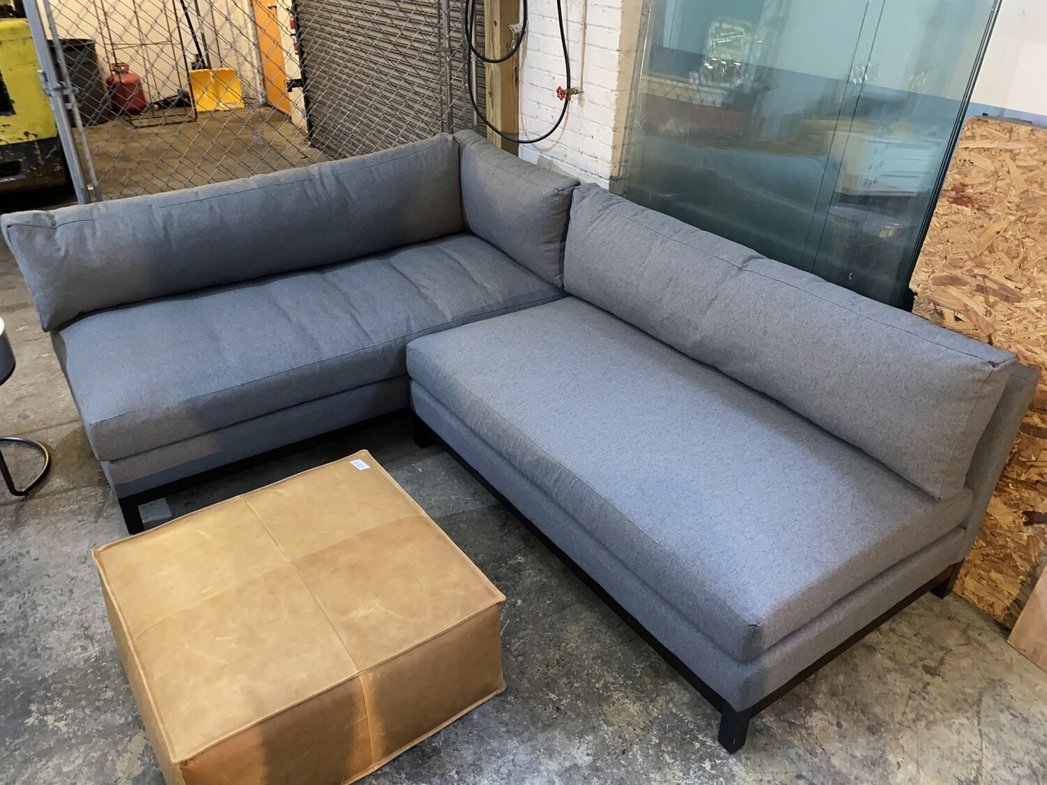 JB Arwen Corner Sectional (Essence Ash) 3707