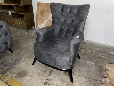 Chester Grey Velvet Chair