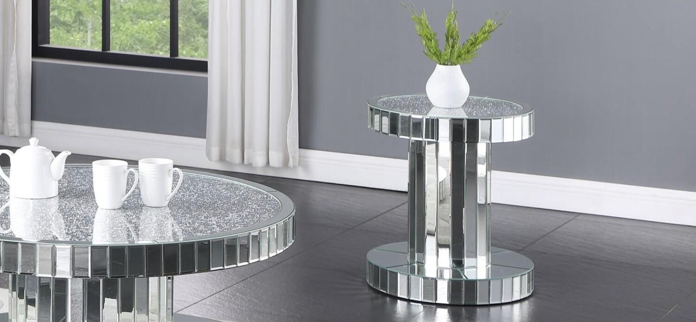 Rayner Mirror End Table