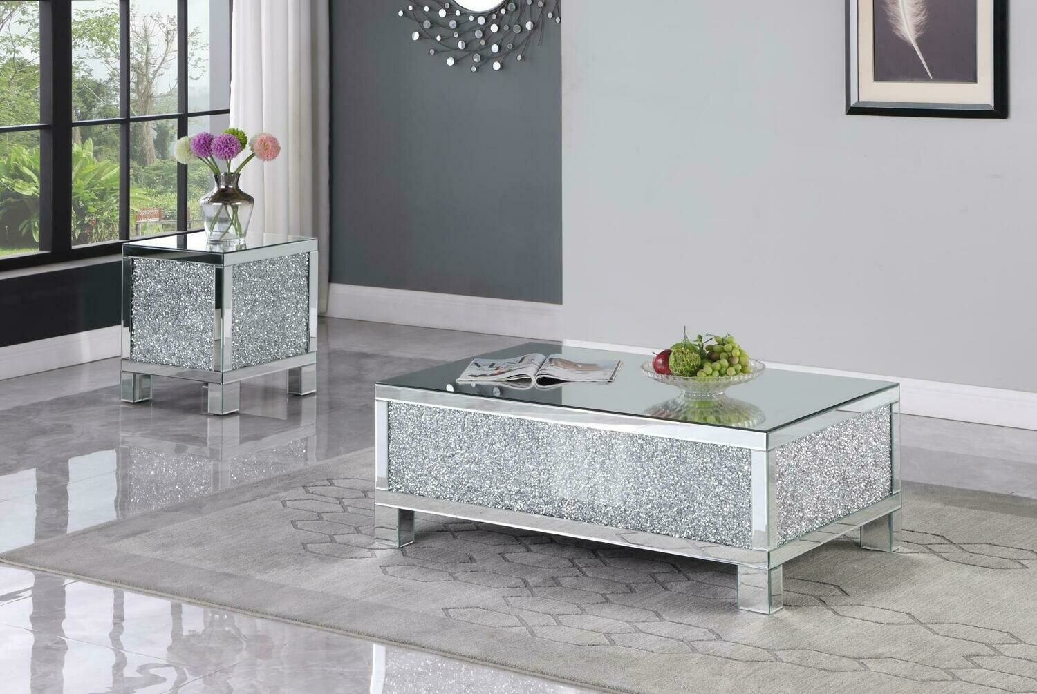 Goforth Mirror Coffee Table