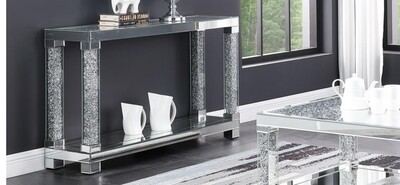 Souter Mirror Console Table