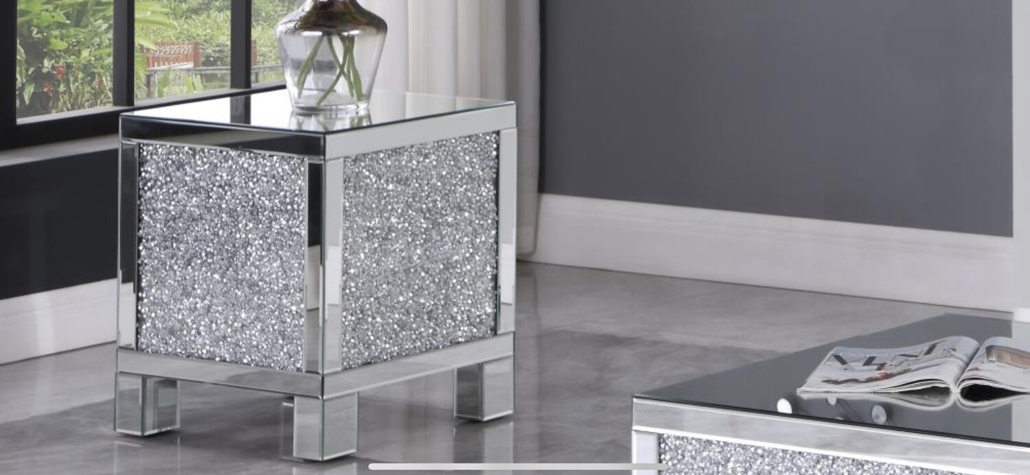 Goforth Mirror End Table