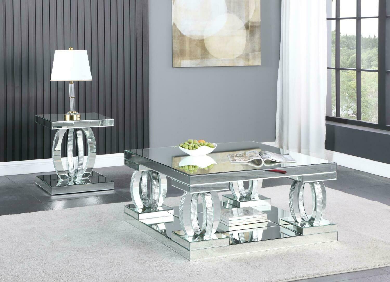 Dahler Mirror Coffee Table