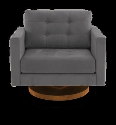 JB Eliot Swivel Chair (Bentley Pewter)1501