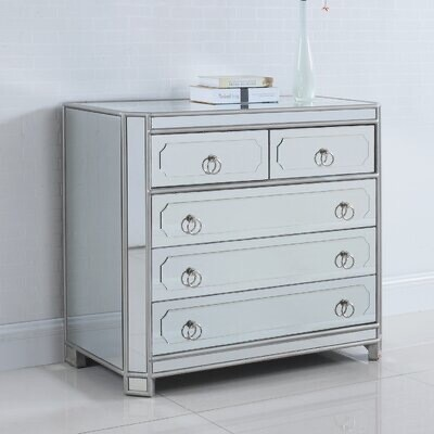 Z Gallerie - Simplicity 5 Drawer Hall Chest